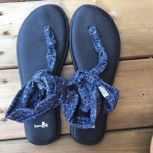 Sanuk Yoga Sling Ella Sandal Thong Slingback Shoes